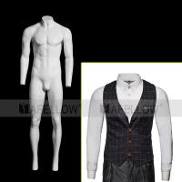 Hot sale product male full body ghost mannequin model for display