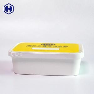 China Recyclable Square Plastic Boxes With Lids Stackable Space Saving on sale