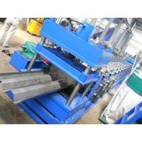 China Highway Fence Cold Bending Roll Forming Machine 5 Rollers Leveling Hole Punching System Use Panasonic PLC Control on sale