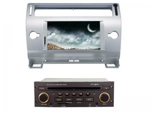 China 2 din car dvd player with bluetooth wifi gps citroen c4 old c-quatre c-triumph on sale