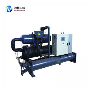 China 350 kw @+7C Industrial Water Cooled Screw Water Chiller For Plastic Molding Machine on sale