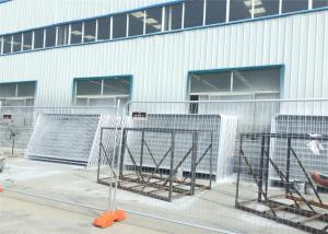China Hot Dipped Galvanized  Portable Dog Kennels Temporary Construction Fence Panels on sale