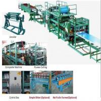 32KW 380v Sandwich Roll Forming Machine used to produce foam board, black board and rockwool machine