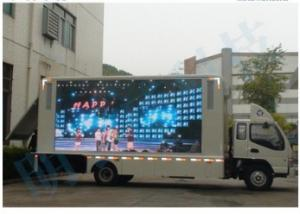 China Traffic Poster P5 Flexible Led Display Module Screen Truck Advertising Video Wall on sale
