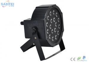 China 18pcs LED Par Light / Indoor LED Lamp For Wedding Events 4 DMX Channels on sale