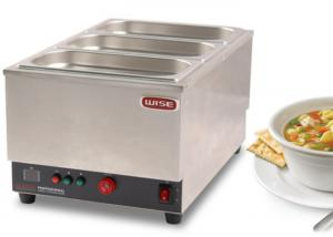 China Countertop Food Warmer Snack Food Equipment Electric Bain Marie Three Tank on sale