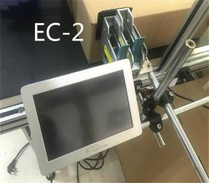 China Batch Code Thermal Jet Printer Expiry Date Stamping Machine Silver Color on sale