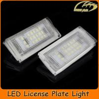 [H02012] LED Number License Plate Light for BMW E46 4D