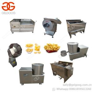China Small Scale Potato Chips Making Machine French Fries Production Line on sale