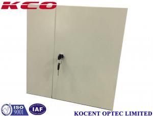 China 2 Doors KCO-WTB-24A Wall Mount Fiber Optic Terminal Box 12 24 36 48 ports on sale