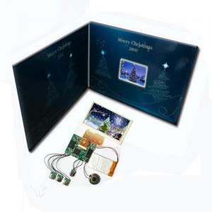 China Slide tongue 2.8 inch TFT video LCD Greeting Card for xmas with 2G memory TFT3 on sale