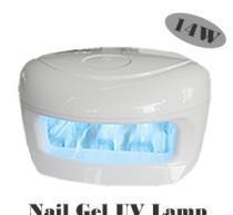 China 14W Ultraviolet Nail Gel UV lamp/Nail dryer(KS-ND006) on sale