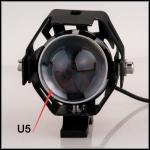 Le phare du transformateur LED de la moto U5 avec l'oeil d'ange et le démon observent
