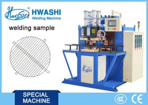 China Iron Round WIre Mesh Welding Machine , Automtic Spot Welding Machine With Rotating Fixture on sale