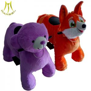 China Hansel animal scooter for mall and riding animal costume plush ride with baby ride on car made in china on sale
