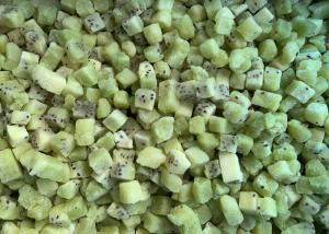 China BRC IQF Frozen Kiwi Fruit Cubes For Supermarkets on sale