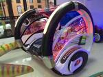 360 degree rotating black le bar car Rocking Bus game machine swing happy car amusement ride for sale