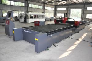 China 専門の注文のステンレス鋼レーザーの彫版機械 HECF6015ISII on sale