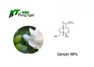 China CAS No 6902 77 8 Gardenia Flower Extract , Gardenia Jasminoides Fruit Extract Powder supplier