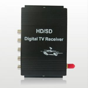 China car digital tv tuner receiver box Car ATSC USA Digital TV receiver for car LCD monitors digital free view on sale