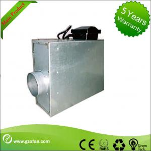 China Sheet Steel Silent Inline Fan / Silent Inline Extractor Fan For Air Flow on sale