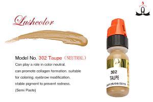 Non - Toxic 8 Ml Organic Semi Permanent Makeup Pigments For