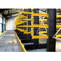 China Slotted Rivet With Safelock With Safelock Cantilever Pallet Racking on sale
