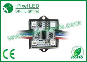 China 35Mm DMX Pixel 4LED 12v LED Pixel Module / Digital Full Color Rgb Led Module on sale