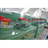 China Large Vertical Cable Drawing Machine , High Accurancy Cupper Rod Breakdown Machine on sale