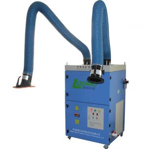 China Double cartridge filters welding fume extractor/portable laser smoke master with fume extraction arms on sale