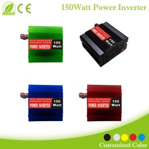 China dc to ac Power Inverter 150w for car appliance,Color customization on sale