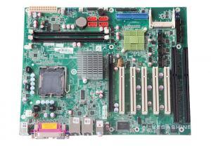 China Intel G41 LGA775 socket 2 ISA Slot Motherboard / 2 Serial COM industrial motherboard on sale