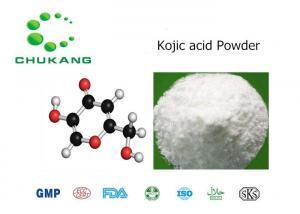 China Cosmetic Grade Kojic acid C5-hydroxy-2-hydroxymethyl-1,4-pyrone CAS 501 30 4 on sale