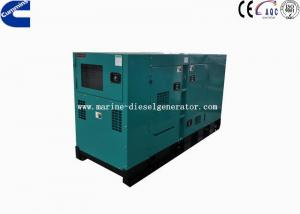 Quality 50HZ 125KVA Silent Cummins Diesel Generator 6 Cylinders With Canopy for sale