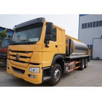China Sinotruk 6x4 16M3 Asphalt Tanker Truck , 16 CBM Bitumen Sprayer Truck DFL1160BX6 on sale