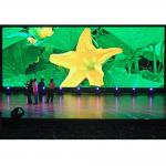 HD P3 Full Color Indoor LED Video Wall Customized Flexible Wide Viewing Angle