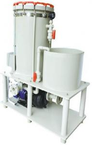 China Vertical Electroplating Equipment Chemical Filter Systems High Precision Easy Operation on sale