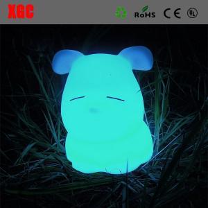 China LED Decoration Animal Desk Lamp,Modern Cute Dog Shape Eco-Friendly Children Table Lamp on sale