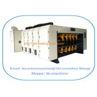 TB600 1800*2500mm 4 color corrugated carton box printing slotting machine