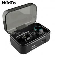 China Bluetooth Earphone with 2600mAh Charging Box IPX6 Waterproof Wireless Headphone USB Output Earbuds on sale