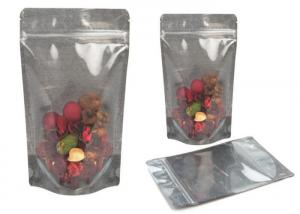 China Transparent 2oz Compostable Plastic Pouch Packaging Moisture Proof Non - Leakage on sale