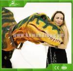 Costume réaliste adulte attrayant de dinosaure d'amusement de KAWAH pour le centre commercial