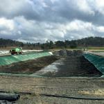 Flexbile Concrete Mat Cloth(CMC) GCCM rolls for Slope protection and offer Permanent Erosion Control