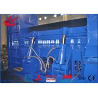 CUMMINS Diesel Engine Metal Scrap Shear Baler Machine For Waste Metal Baling