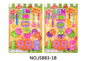 China Eco Friendly Childrens Toy Kitchen Sets , Kids Toy Cooking Set 19.6  on sale