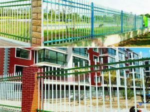 China Customized Antirust Art Steel Modular Wall Fences on sale