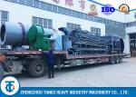 5 - 30T/H Pellet Drum Coating Machine Compound Fertilizer Granules Usage
