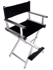 ... Quality Folding Director Aluminum Mac Makeup Chair Multi - Colour Easy Cleaning for sale ...