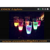 Colorful Plastic Led Party Cups Illuminated Cocktail Wine For Hotel And Resorts