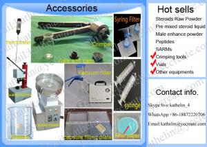 China Tool for steroids-Vials,crimping tools,Syring filters,Vacuum Filter,capsule filling plate,beaker,capsule counter... on sale